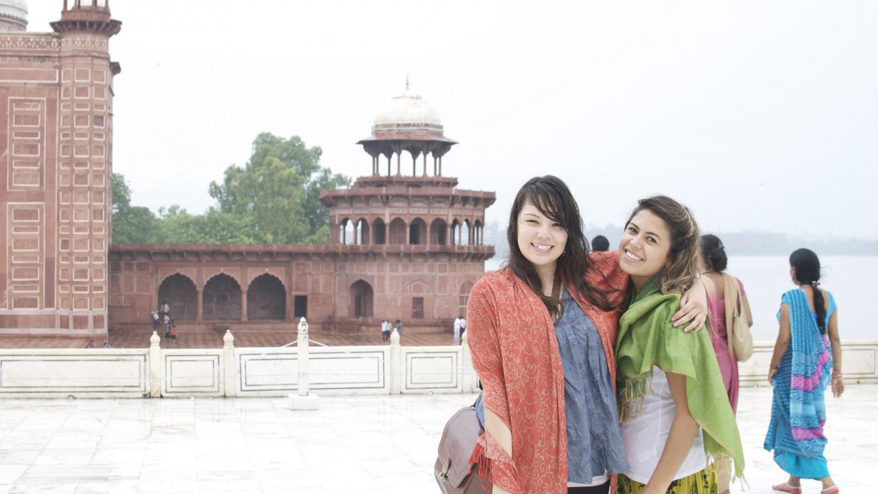 UC Davis Internship Abroad India, Photo Album, Header