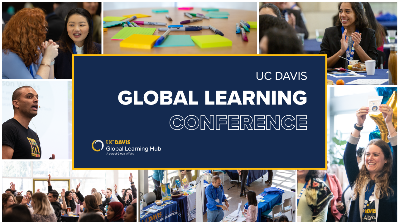 Global Learning Conference - Postcard