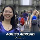 Aggies Abroad - Photo of Student